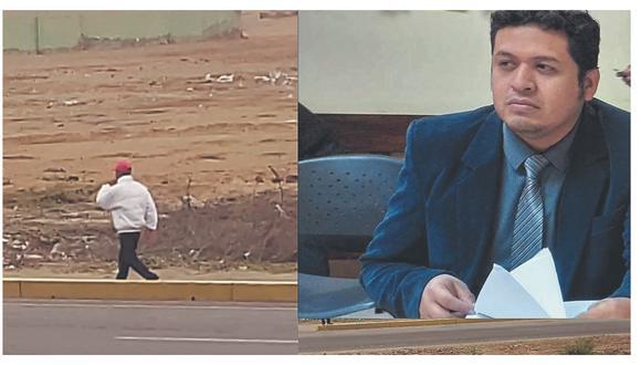 Fue alertado por vecinos que desconocido merodea desde hace varios días su vivienda ubicada en la carretera a Pimentel.