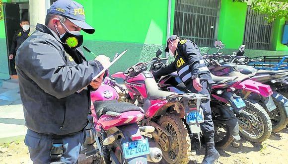 Robo de motocicletas se incrementa