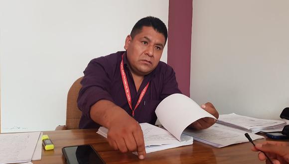 Regidor de la MPT Juan Llanqui asegura tiene órdenes de servicio en el 2019 y 2020