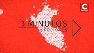 Noticias de regiones en 3 minutos: ¿Qué ha pasado en Ucayali, Áncash y Arequipa?