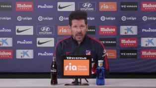 """Diego Simeone: """"Contundencia, equilibrio y hacer un gran partido"""""""