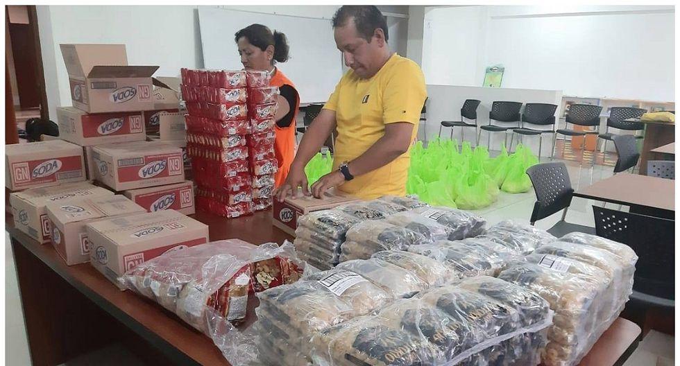 La Libertad: Alcalde de Santiago de Cao dona sueldo para comprar canastas de víveres