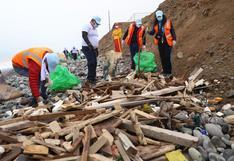 Costa Verde: recolectan más de 4 toneladas de basura en playas de Magdalena