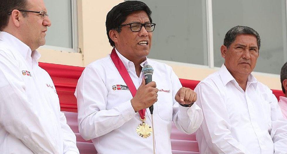 Vicente Zeballos indicó que el Ejecutivo respeta orden de allanamiento a Confiep