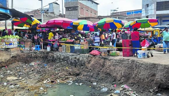 La Municipalidad de Tumbes ha recuperado parte de la calle Piura, sin embargo ambulantes se han posesionado en otras calles aledañas.