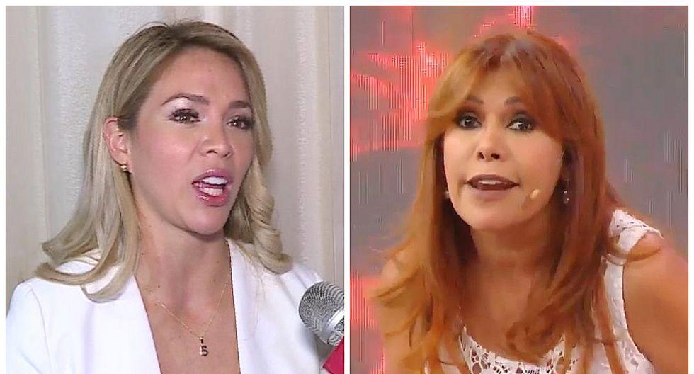 """Magaly Medina a Sheyla Rojas: """"Piensa primero en tu hijo antes que en ti misma"""" (VIDEO)"""
