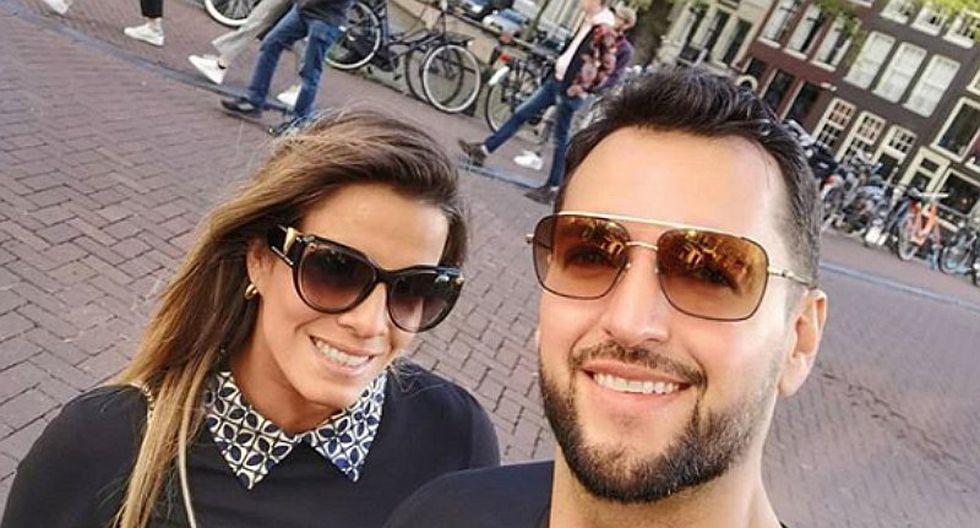 Alejandra Baigorria se comprometió con su novio venezolano en Holanda (FOTO)