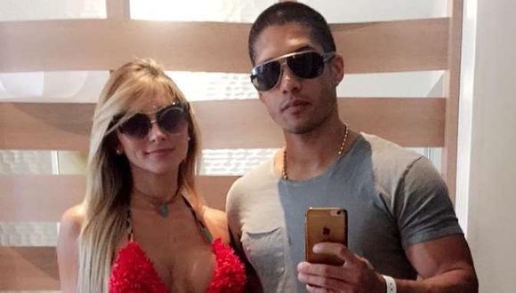Chyno Miranda y su esposa, Natasha Araos, son grabados bailando juntos y felices en una reunión. (Foto: Instagram)