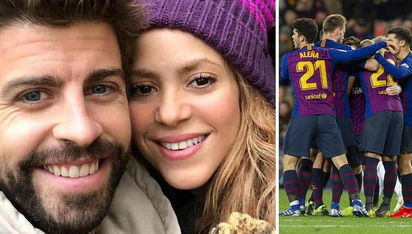 Shakira envió emotivo mensaje tras la eliminación del Barcelona