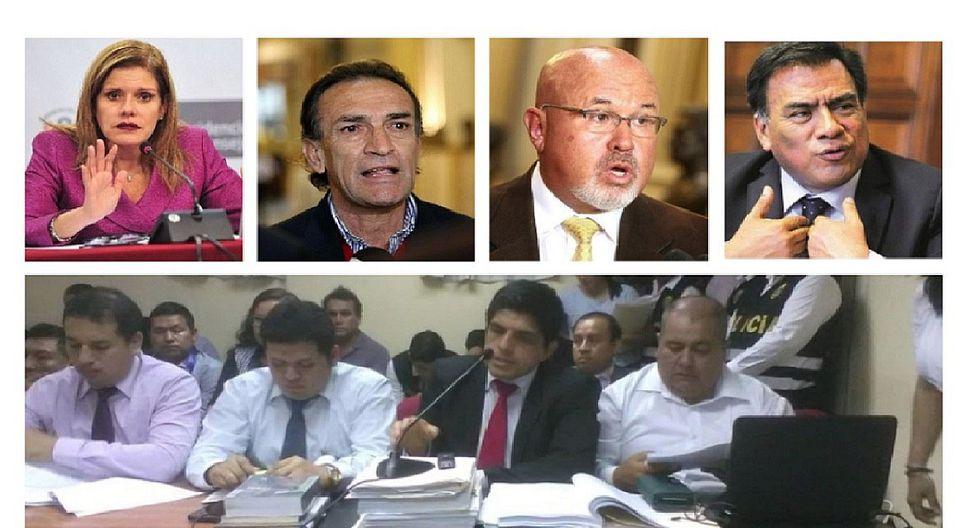 Los Temerarios del Crimen: Becerril, Velásquez, Bruce y Aráoz fueron mencionados en audiencia