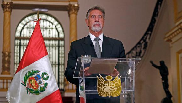 El presidente Francisco Sagasti dará un mensaje a la Nación este 27 de julio. (@presidenciaperu)