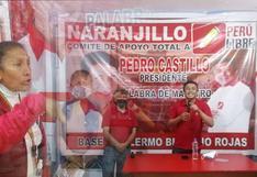 Simpatizante de Perú Libre increpa a virtual congresista Bermejo por inaugurar locales en Huánuco (VIDEO)