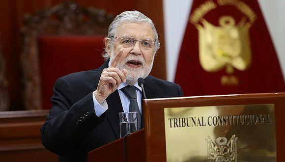 Tribunal Constitucional acordó por unanimidad no participar en el Consejo para la Reforma de Justicia (VIDEO)