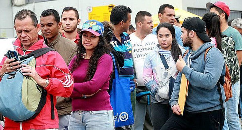En el Perú hay más de 768 mil venezolanos, según cifras de la ACNUR