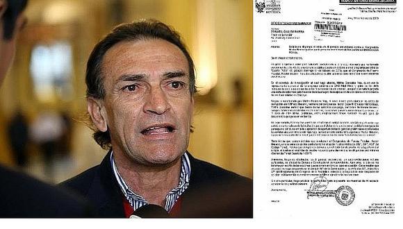 Héctor Becerril: Fiscalía inicia investigación preliminar en su contra