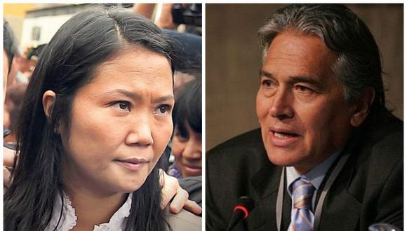"""Keiko Fujimori: """"Fuerza Popular respaldará a Vladimiro Huaroc"""" (VIDEO)"""