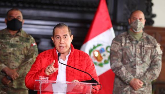 Walter Martos: la ciudadanía debe mantener la calma