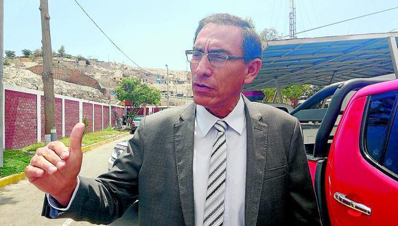 """Vizcarra: """"Gobernadores antes de pelearse deben unirse"""""""