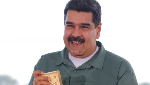 Venezuela demanda al Banco de Inglaterra para recuperar su oro. (EFE/PRENSA MIRAFLORES)