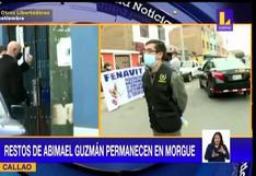 Abimael Guzmán: Familiares de víctimas del terrorismo protestan cerca de la morgue del Callao (VIDEO)