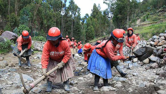 Niño Costero: 30 mil empleos temporales se crearon en zonas afectadas