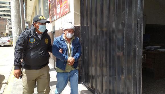 Ex juex Emiliano Ramos fue trasladado a Poder Judicial  Foto: Luis Quispe/Photo@GEC