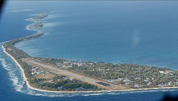 Cinco islas del Pacífico desaparecen debido al aumento del nivel del mar