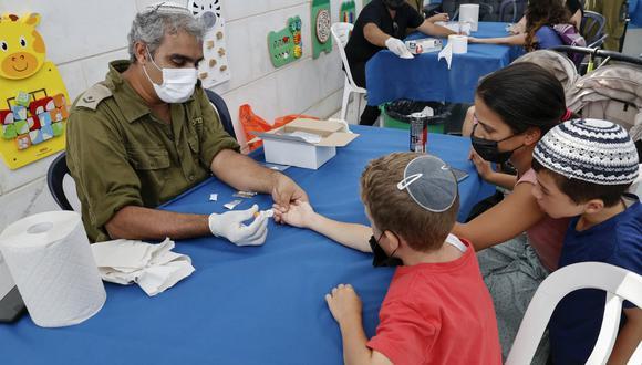 El gobierno israelí quiere evitar aplazar el inicio del nuevo año escolar, previsto el 1 de septiembre. (JACK GUEZ / AFP)