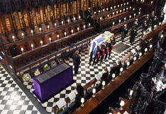 Empieza el funeral del príncipe Felipe, esposo de la reina Isabel II, en la capilla de San Jorge (VIDEO)