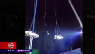 Estados Unidos: Ilusionista casi pierde la vida en acrobacia extrema