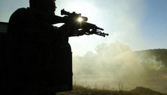 Afganistán: Francotirador mata a seis talibanes con un solo disparo