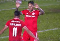 Paolo Guerrero anotó su primer gol del 2021 con Inter de Porto Alegre (VIDEO)
