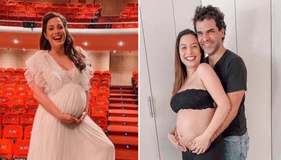Natalia Salas a puertas de convertirse en madre por primera vez. (Foto: @nataliasalasz)