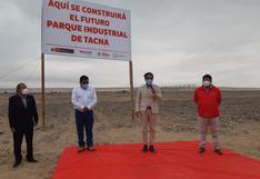 GRT transfiere terreno para parque industrial en Tacna