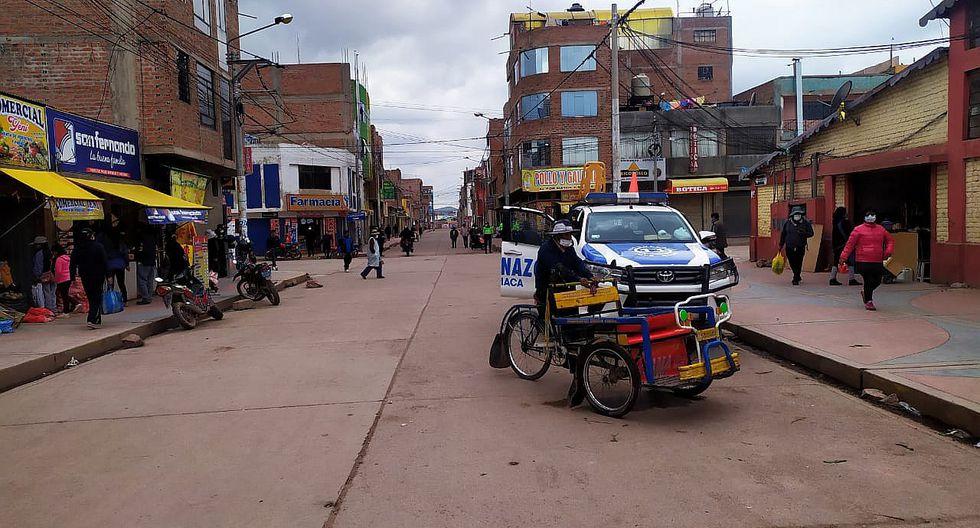 Feria sabatina se suspendió en la ciudad de Juliaca