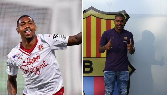 Malcom es oficialmente el nuevo fichaje del FC Barcelona