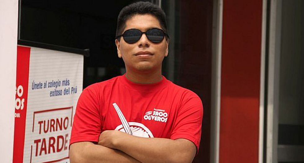 Joven invidente ingresa a la Universidad San Marcos ocupando el primer puesto