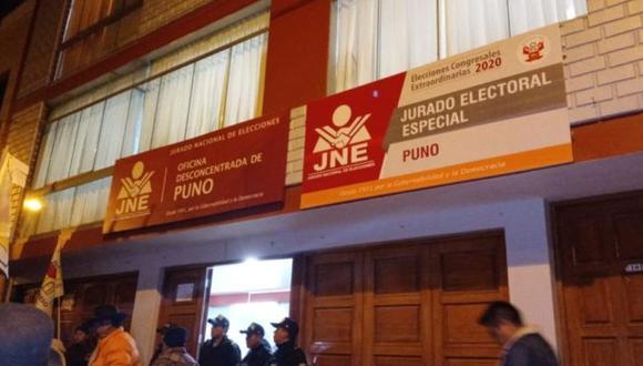 En la región Puno, está es la lista de postulantes.