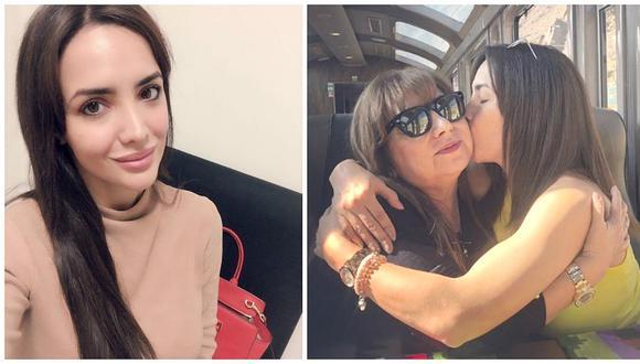 La progenitora de Rosángela incidió en Instagram que está de acuerdo con la salida de su hija y criticó a EEG, pero luego eliminó publicación.