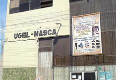 UGEL Nasca no paga incentivos a personal administrativo