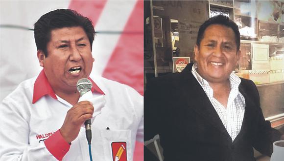 Vladimir, Waldemar y Fritz Elías Cerrón Rojas mantienen una cohesionada ascendencia en la campaña de Pedro Castillo