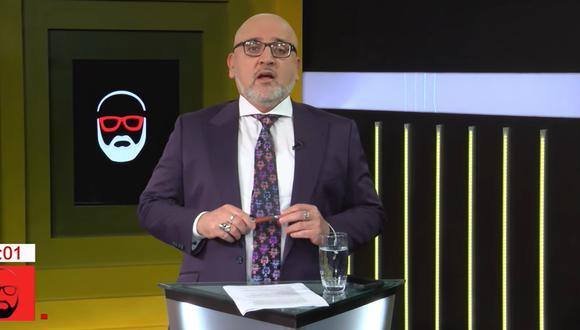 Beto Ortiz anunció su regreso a la TV desde Ciudad de México. (Foto: Captura de video)