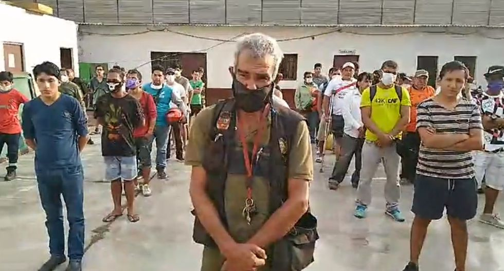 Trujillo: Más de 60 detenidos en 'nuevo toque de queda'  (Foto: captura de pantalla | 'Hoy Noticias' )