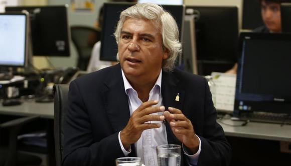Fernando Olivera confirmó sus deseos de ser presidente del Perú. | Foto: GEC.