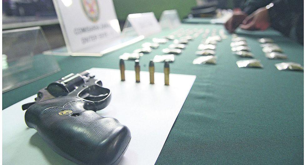 Policía incautará armas de fuego sin licencia vigente a partir de abril