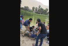 Padre de familia fallece ahogado en Huacachina