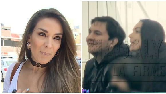 Pareja de Silvia Cornejo es captado besándose con la madre de su primer hijo (VIDEO)