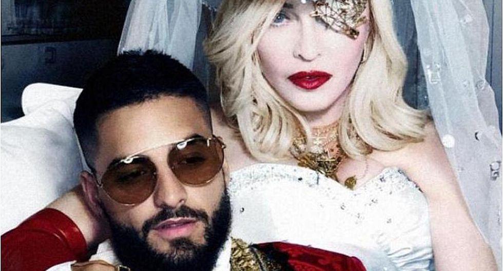 Revelan en Instagram el nombre que tendrá la nueva canción de Madonna y Maluma