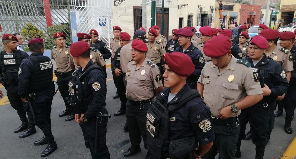 Los policías vigilarán las zonas de Surco donde se han registrado incidentes delictivos. (Difusión)