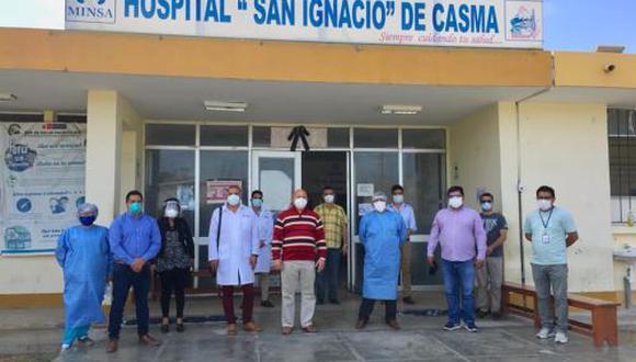 Áncash: la demanda por camas de hospitalización se ha reducido y actualmente solo tres de ellas están ocupadas. (Foto: Difusión)